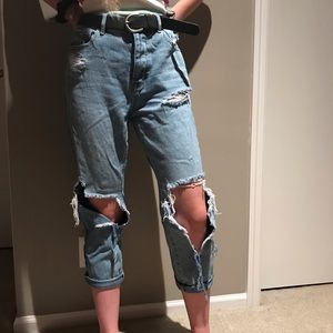 PacSun Ripped Mom jeans